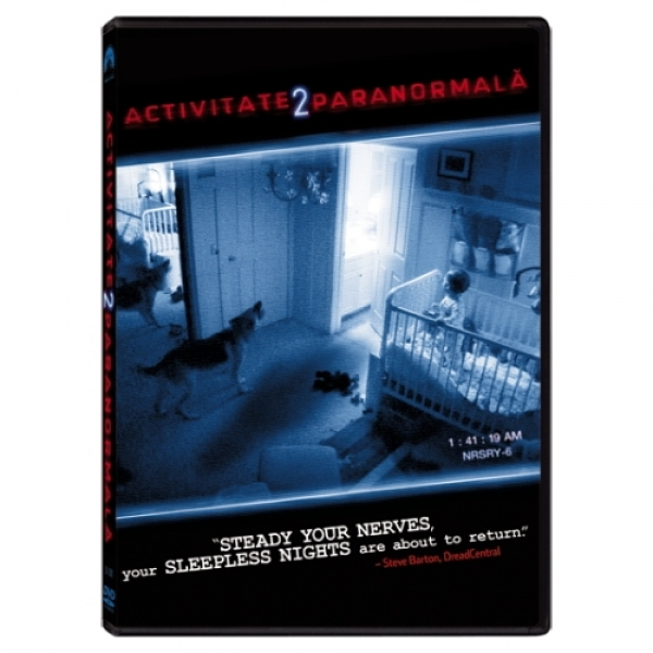 ACTIVITATE PARANORMALA PARANORMAL ACTIVITY 2