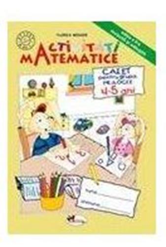 Activitati matematice caiet grupa mijlocie 4-5 ani