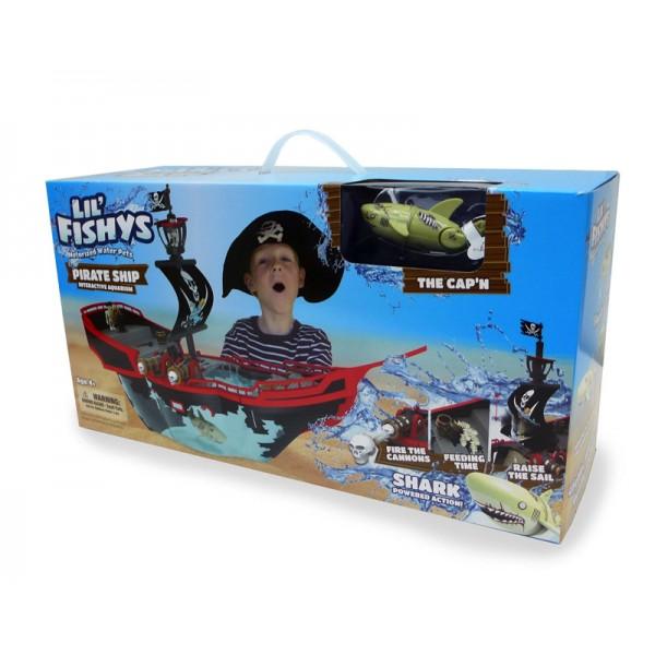 Acvariu corabia piratilor+peste Lil\'Fishys