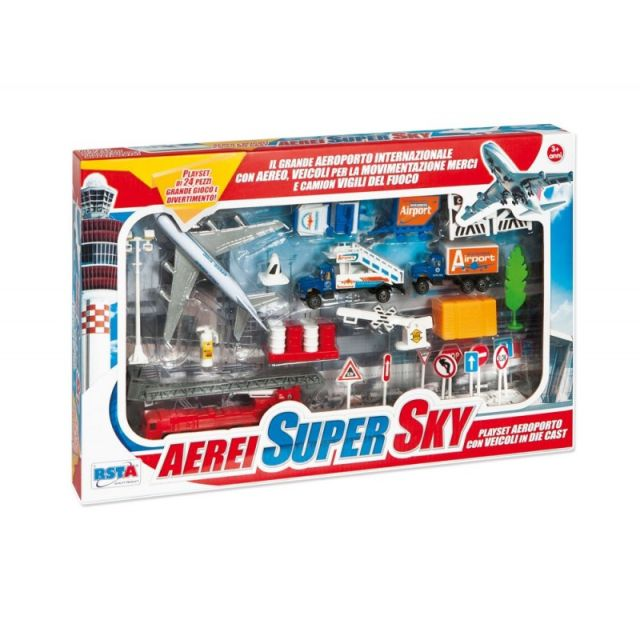Aeroport,Rstoys,24pcs