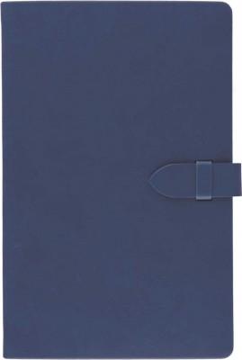 Agenda 13x21cm,Tucson clasp,240pagini,dictando,albastru