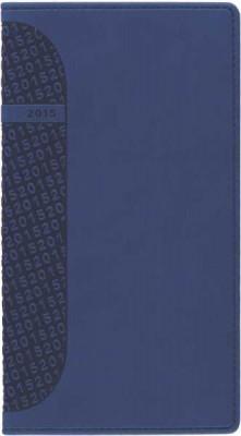 Agenda 8x15cm,datata,Kent,saptamanala,128pagini,albastru