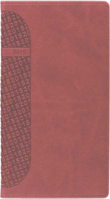 Agenda 8x15cm,datata,Kent,saptamanala,128pagini,rosu cardinal