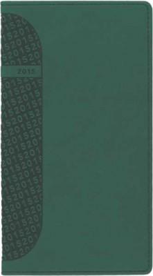 Agenda 8x15cm,datata,Kent,saptamanala,128pagini,verde