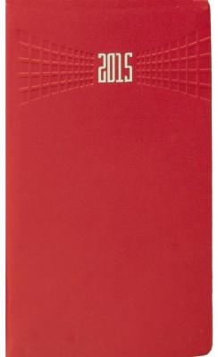 Agenda 8x15cm,datata,Matra,saptamanala,128pagini,rosu