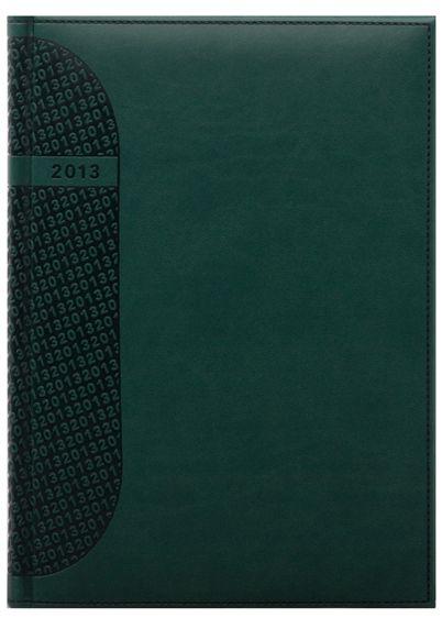 zzAgenda datata A4,Kent,saptamanala,128p,ivoire,verde