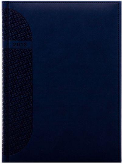 zzAgenda datata A4,Kent,saptamanala,128p,ivoire,albastru chinezesc