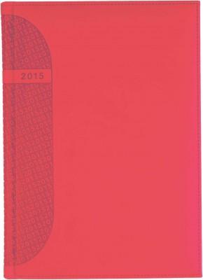 Agenda A4,datata,Kent,saptamanala,128pagini,h.ivory,rosu coral