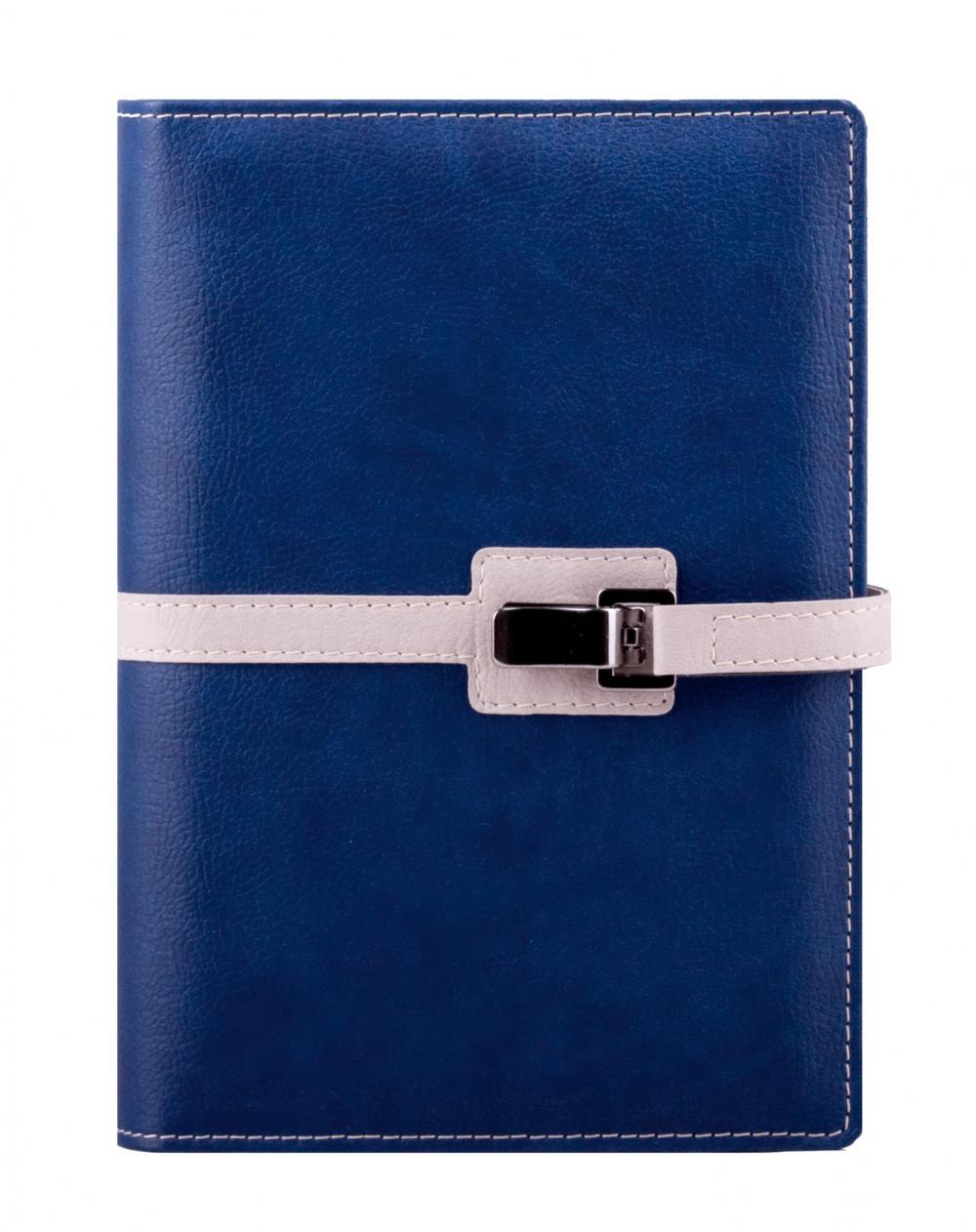 Agenda A5,Clip,zilnica,320p,albastru