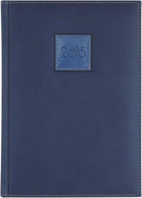 Agenda A5,datata,Everest,zilnica,320pagini,h.ivory,albastru