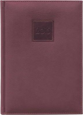 Agenda A5,datata,Everest,zilnica,320pagini,h.ivory,maro