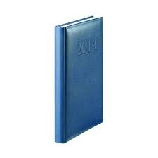 Agenda A5,datata,Herlitz,352p,albastru