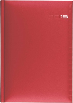 Agenda A5,datata,Ontario,zilnica,320pagini,rosu