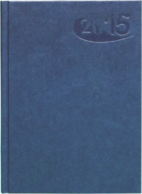 Agenda A5,datata,Papier,zilnica,320pagini,h.ivory,albastru
