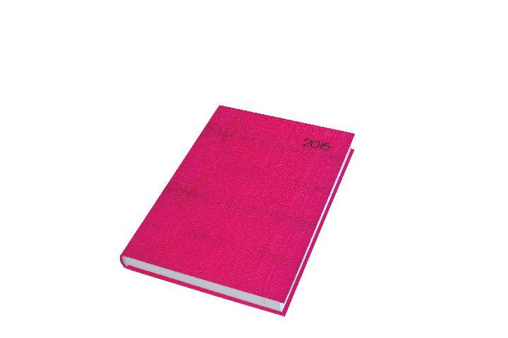Agenda A5,datata,Premium DeLuxe,zilnica,352pagini,roz