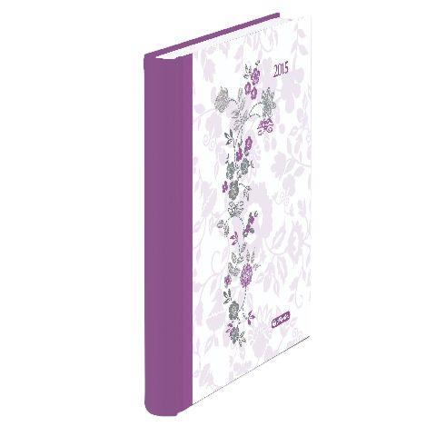 Agenda A5,datata,Romantic,zilnica,352pagini