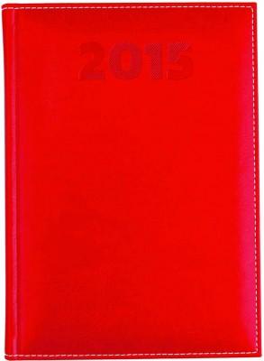 Agenda A5,datata,Sherwood,zilnica,320pagini,h.ivory,rosu
