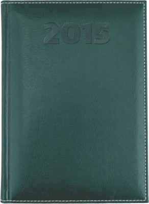 Agenda A5,datata,Sherwood,zilnica,320pagini,h.ivory,verde