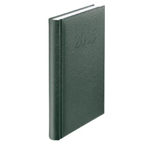 Agenda A5,datata,Standard,zilnica,352pagini,verde