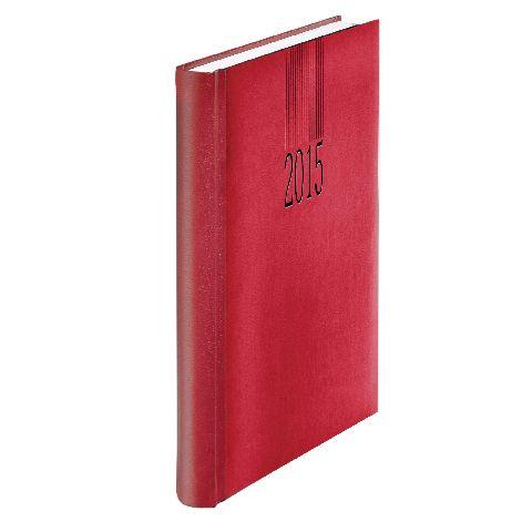 Agenda A5,datata,Tucson,zilnica,352pagini,rosu