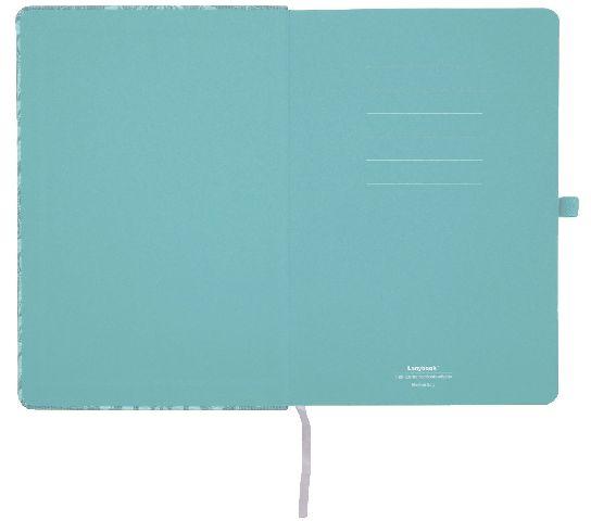 Agenda A5,Modern Baroque,albastru,mate