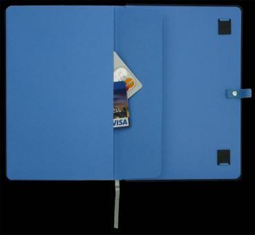 Agenda A5,Night Light,albastru,mate