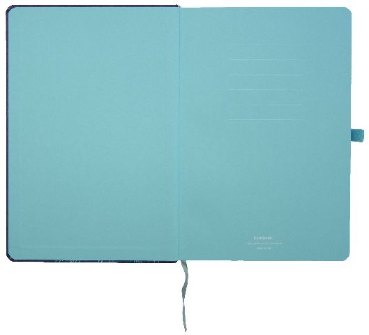 Agenda A6,Lovely Butterfly,albastru,mate
