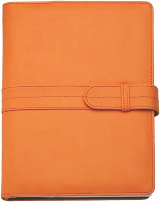 Agenda datata 17x24cm,Dora,zilnica,352p,h.ivory,portocaliu