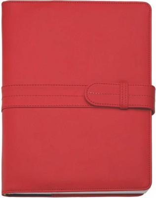 Agenda datata 17x24cm,Dora,zilnica,352p,h.ivory,rosu