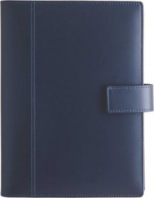 Agenda datata 17x24cm,Imola,din piele,zilnica,352p,h.ivory,albastru