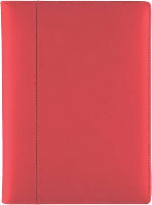 Agenda datata A5,Rimini,din piele,zilnica,320pagini,h.ivory,rosu