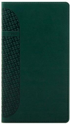 zzAgenda datata 8x15cm,Kent,saptamanala,128p,verde