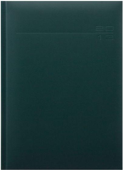 zzAgenda datata 17x24cm,Matrat,saptamanala,128p,ivoire,verde
