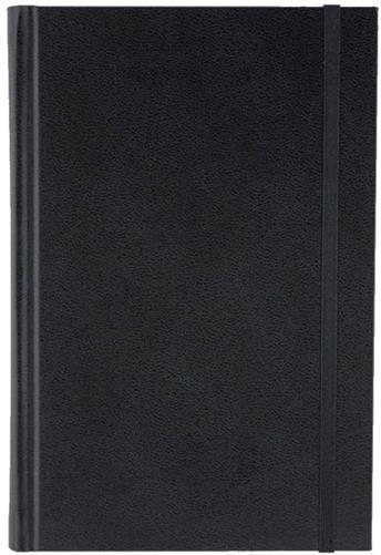 Agenda 11x16.5cm,nedatata,Time,320p,ivoire,velin,negru