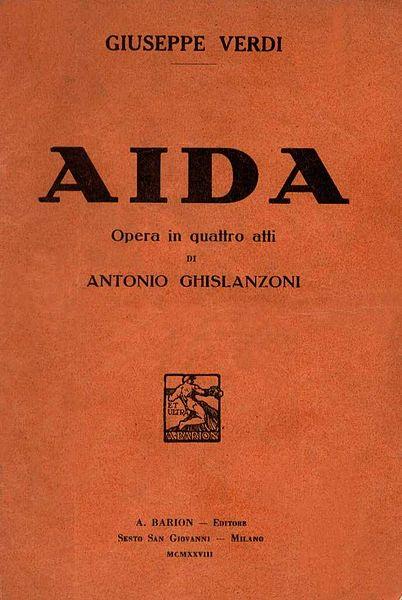 AIDA - G.VERDI ORIGINAL RECORDING FROM