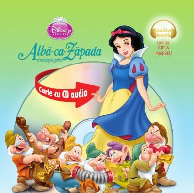 ALBA-CA-ZAPADA SI CEI SAPTE PITICI FORMAT MIC CARTE + CD