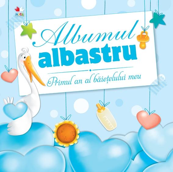 ALBUMUL ALBASTRU. PRIMUL AN AL BAIETELULUI MEU