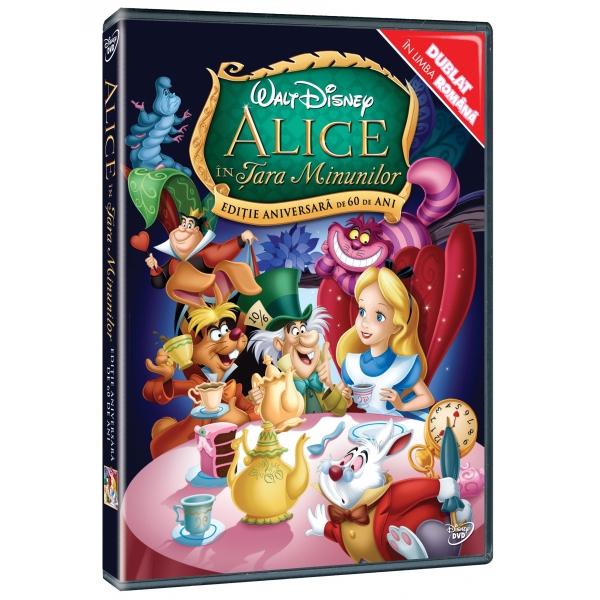 ALICE IN TARA MINUNILOR (1951) - ALICE IN WONDERLAND (1951)