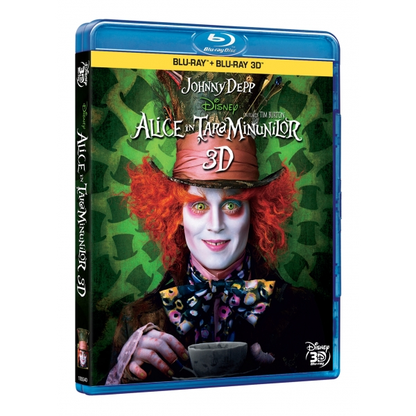 ALICE IN TARA MINUNILOR (2D+3D) (BR) - ALICE IN WONDERLAND (2D+3D) (BR)
