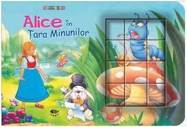 ALICE IN TARA MINUNILOR - CUB PUZZLE