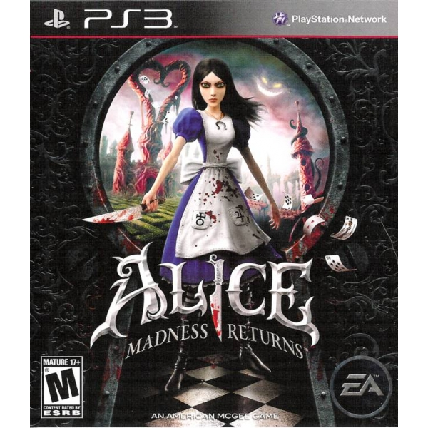 ALICE MADNESS RETURNS - PS3