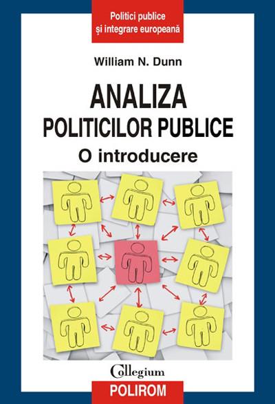 ANALIZA POLITICILOR PUB PUBLICE. O INTRODUCERE