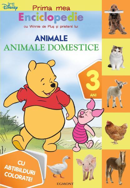 WTP - ANIMALE DOMESTICE CARTE CU ABTIBILDURI