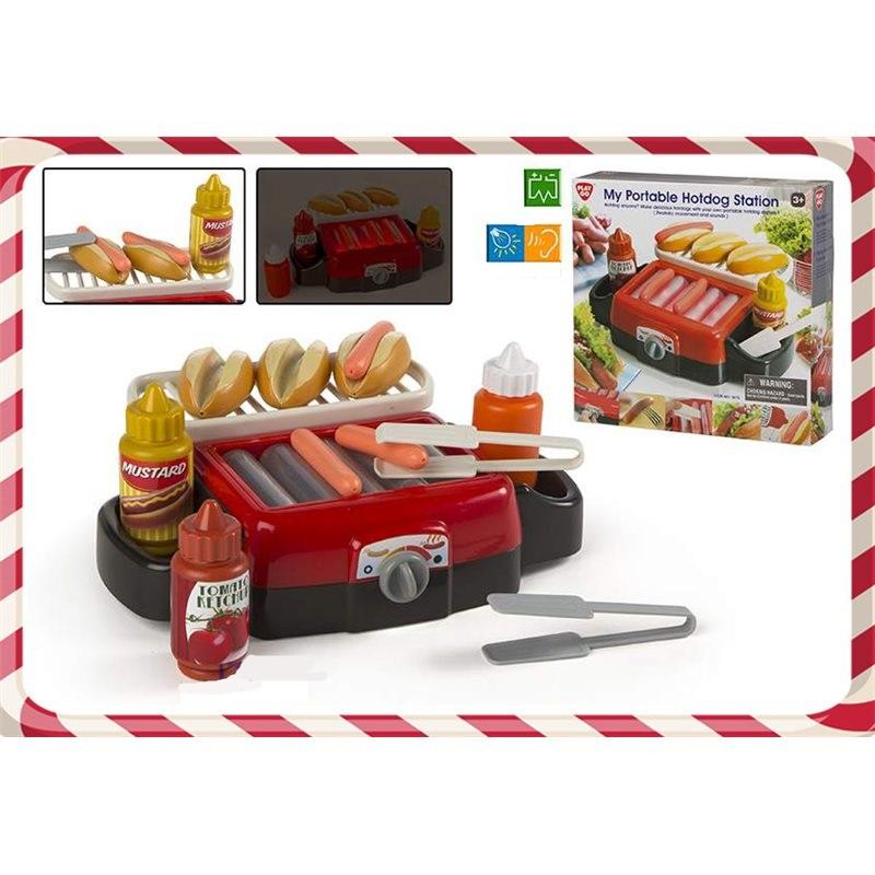 Aparat hotdog cu accesorii,ColorBaby