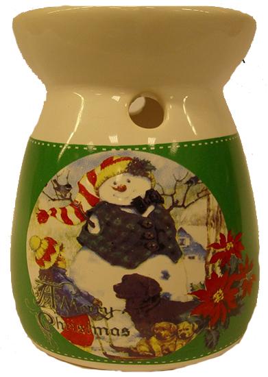 Arzator lumanare Craciun,ceramica
