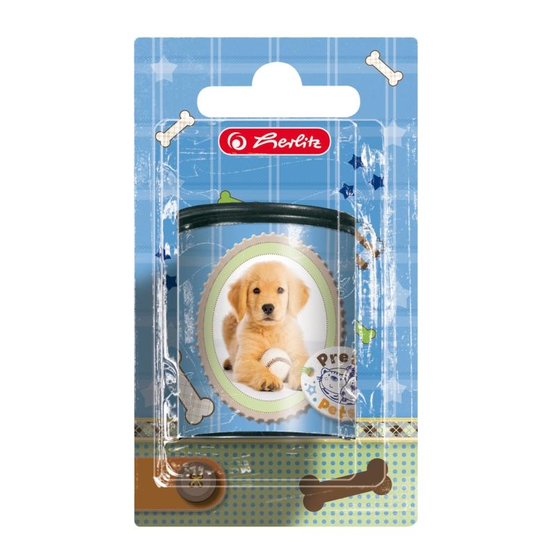 Ascutitoare dubla,container,Pretty Pets,caine