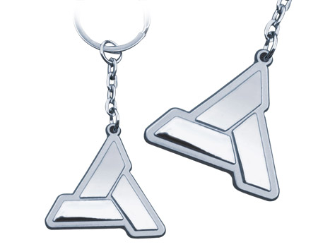 Assassins Creed Keychain: Abstergo Logo