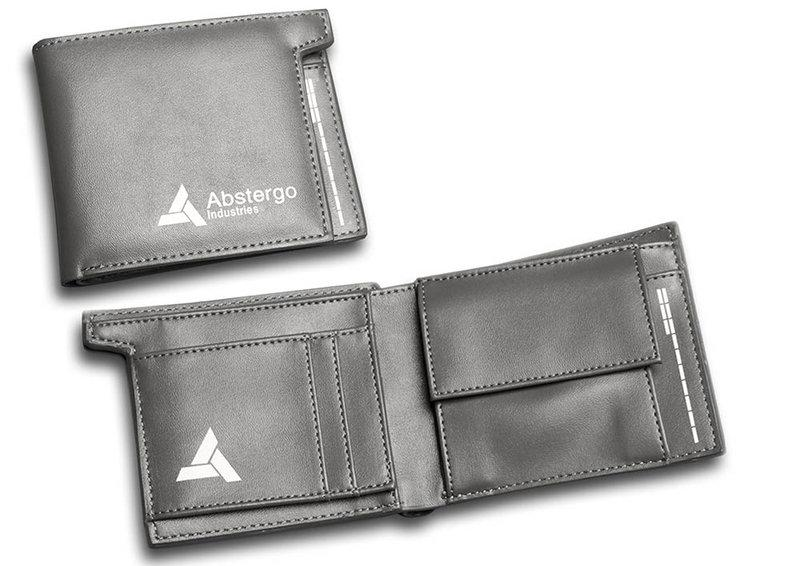Assassins Creed Leather Wallet: Abstergo Industries