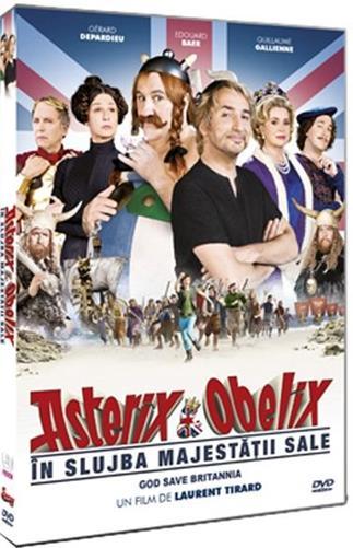 ASTERIX SI OBELIX: IN SLUJBA MAJ-DVD