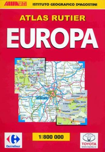ATLAS RUTIER EUROPA 2009-2010